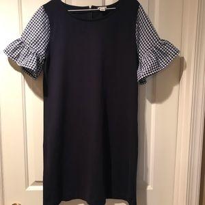 J Crew Ruffle Sleeve Dress